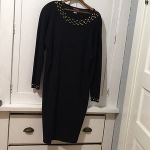 Vintage Smith-Forester 100% Wool Party Dress Studs